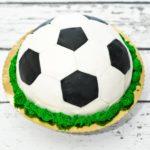 Tort piłka futbolowa