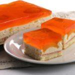 Ciasto morelowe z galaretką